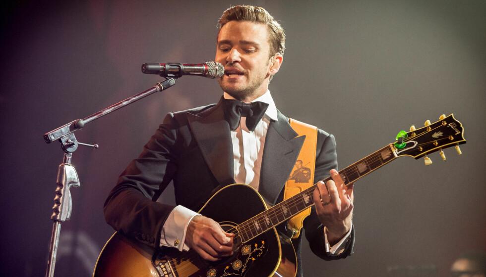 STIKK MOT EKSEN: Timberlake skal ha kalt Britney for «bitch» fra scenen i New Orleans.  Foto: All Over Press