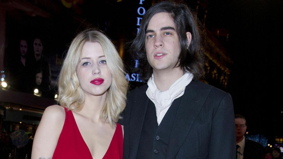 FORELDRE IGJEN: Snart blir Peaches Geldof mor for andre gang. Hun venter sønn nummer to med ektemannen Thomas Cohan.  Foto: Fame Flynet