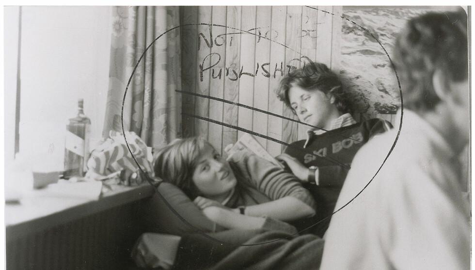POPULÆRT BILDE: Det omtalte bildet av prinsesse Diana og vennen Adam Russell ble solgt til en amerikansk samler. Foto: All Over Press