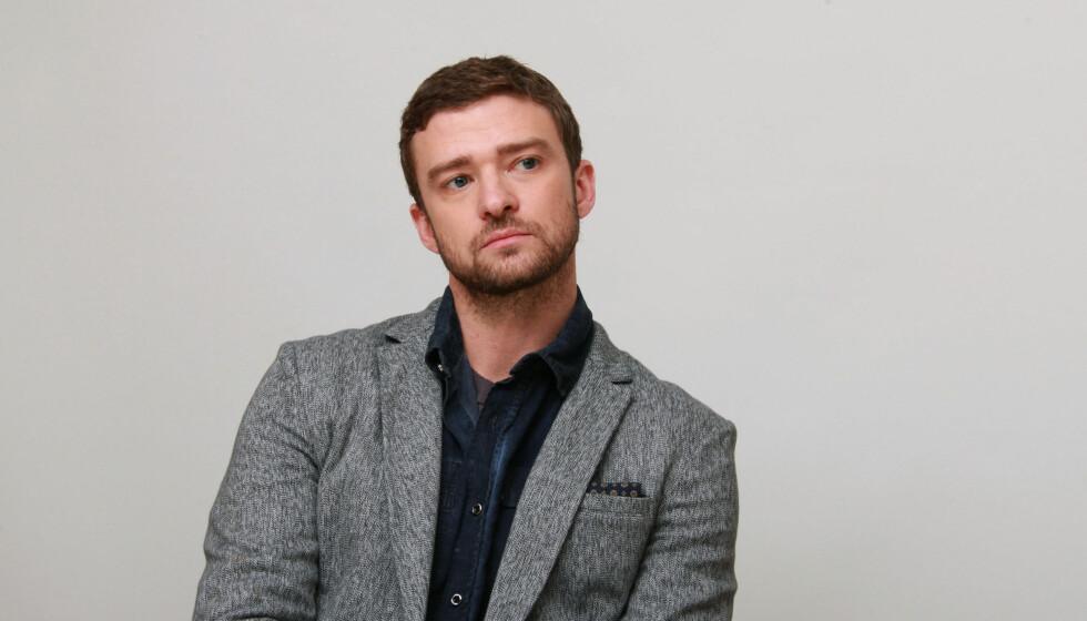 I SORG: Justin Timberlakes bestefar Bill Bomar døde 29. desember etter å ha slitt med demens og hjerteproblemer. Foto: Stella Pictures