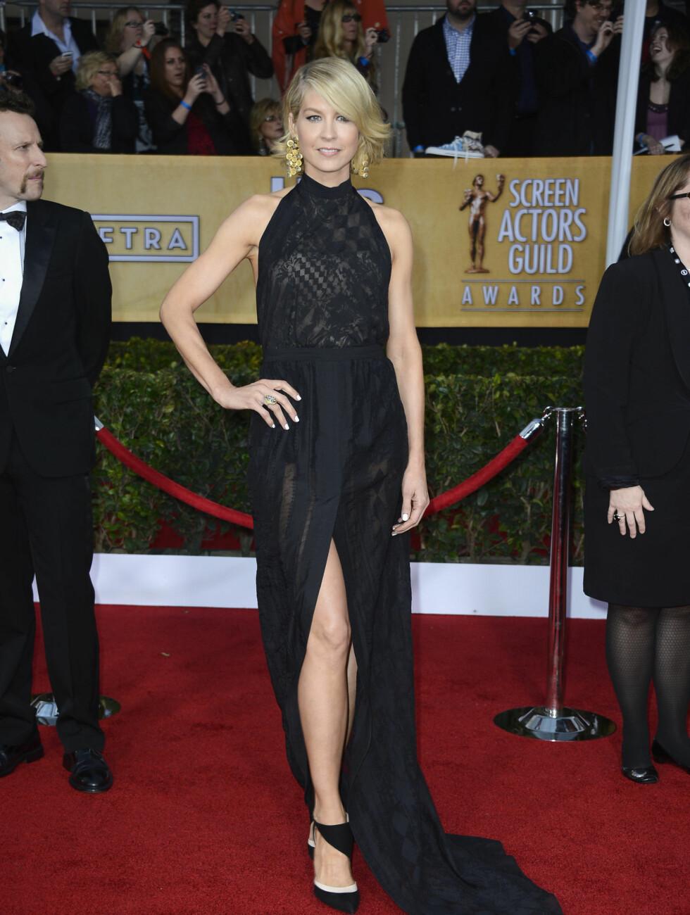"""SAG AWARDS: """"Dharma and Greg""""-stjernen Jenna Elfman. Foto: All Over Press"""