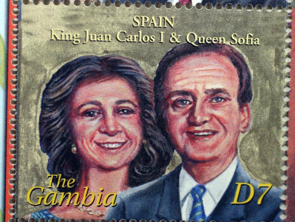SPANIA: Spanskekongen Juan Carlos og hans dronning Sofia.