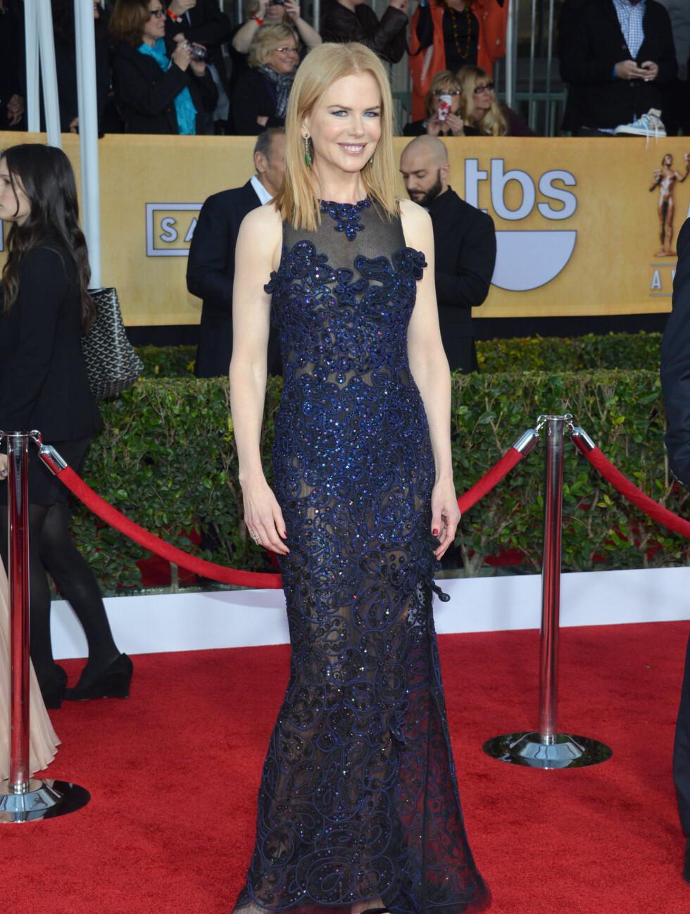 """SAG AWARDS: """"The Paperboy""""-stjernen Nicole Kidman. Foto: All Over Press"""