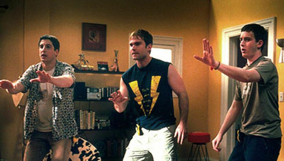 MOROMANN: Seann William Scott har spilt i en rekke komedier, men er kanskje mest kjent som Steve Stifler i «American Pie».