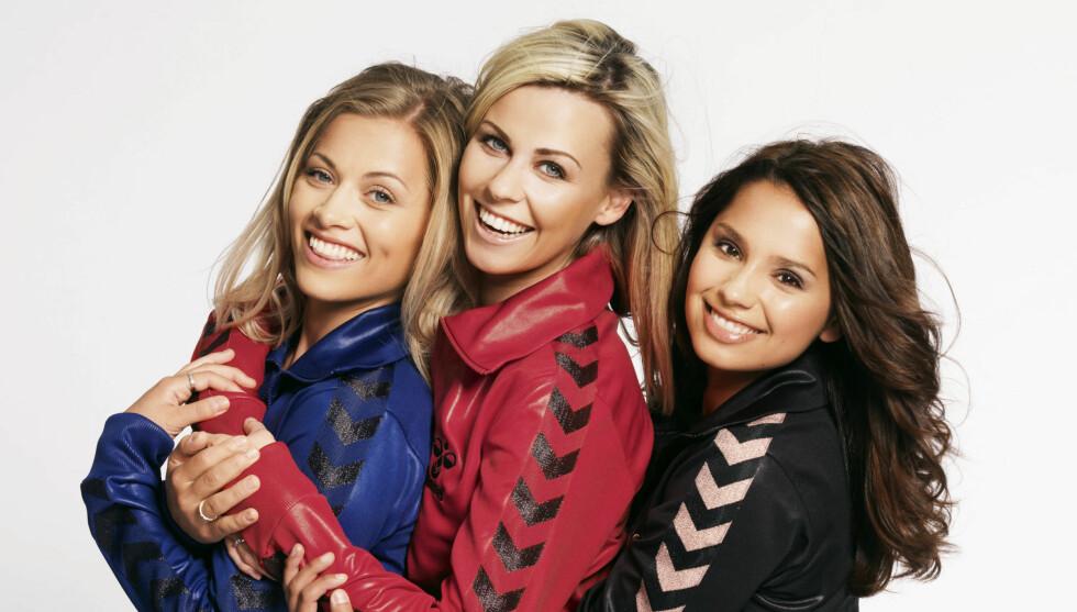 BINGO BINGO: Sammen med Synne Bolstad og Jorunn Stiansen, prøvde Anette-Marie (midten) seg som programleder i gameshowet «Bingo Bingo». Foto: TV 2
