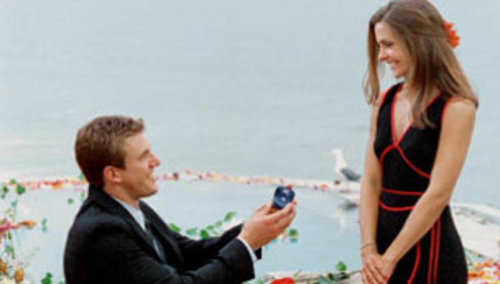 """KORTVARIG LYKKE: Aaron fridde til Helene under finalen av TV-programmet """"Ungkaren"""", men forholdet tok slutt kun fem uker etterpå. Nå er begge lykkelig gift på hver sin kant."""
