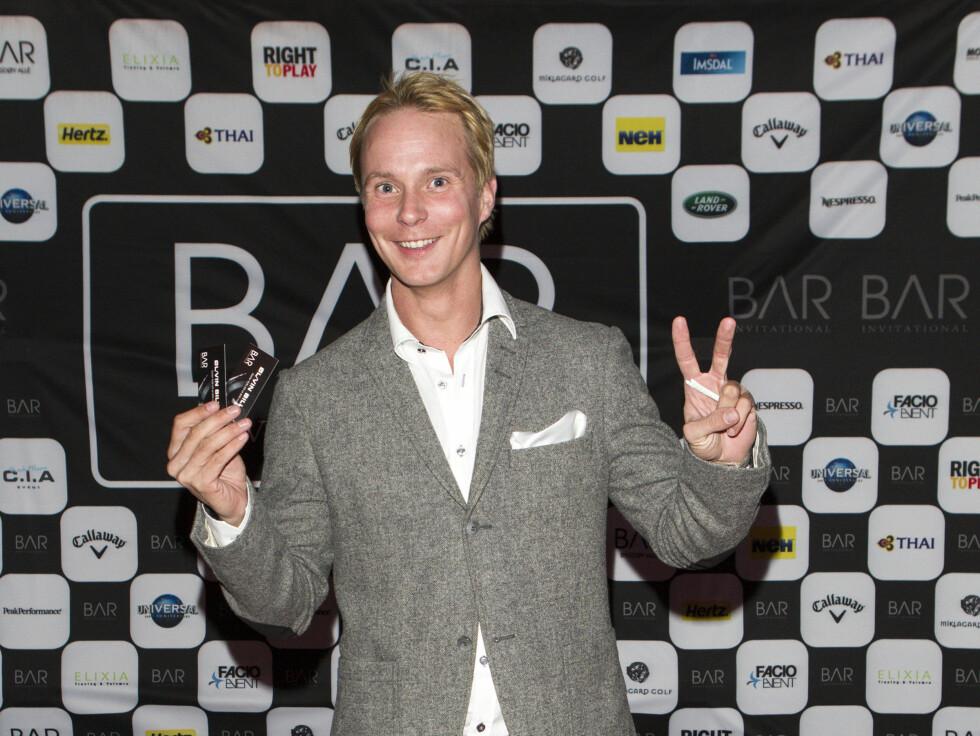 SPORTY: Petter Pilgaard har ikke noe i mot å være spellemann, men: - Det var pinlig! Foto: Andreas Fadum / Se og Hør