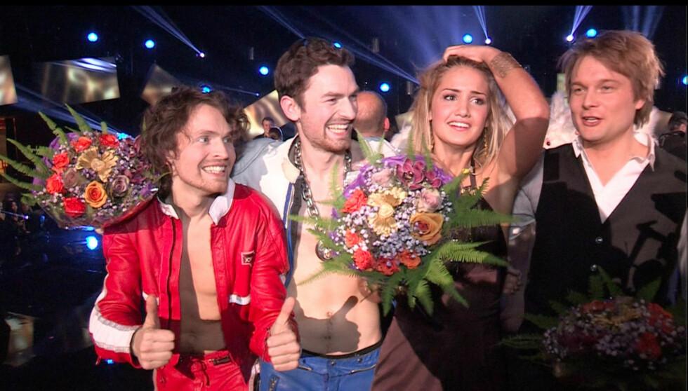 VINNEREN: 16 år gamle Adelén fikk flest stemmer under delfinalen i Larvik. Foto: Per Ervland / Seoghør.no