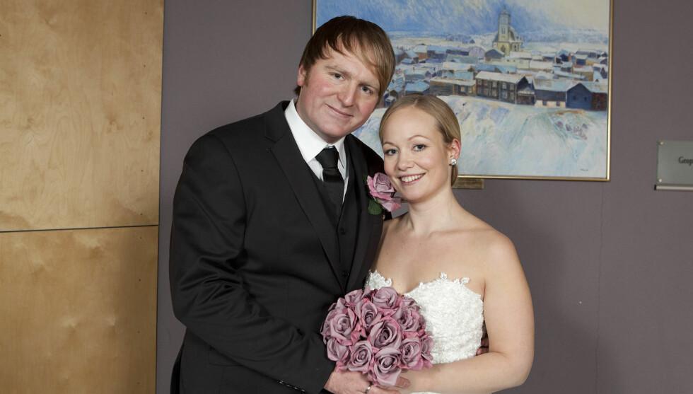 NYGIFT: Musiker Askil Holm og forloveden Tine giftet seg i Røros i 20 minusgrader! I Se og Hør kan du se flere eksklusive bilder fra bryllupet. Foto: Jonas Frøland / Se og Hør