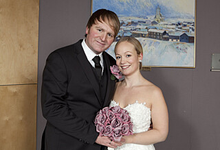 Askil Holm giftet seg i 20 minus