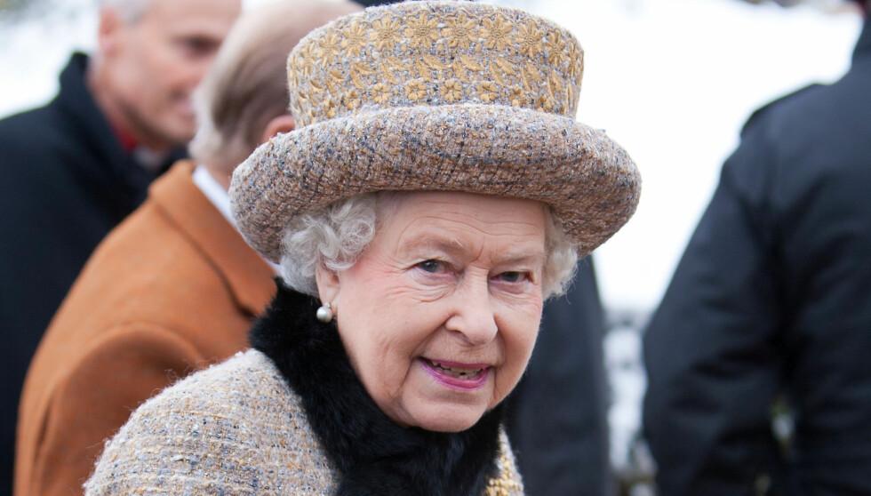 TAUS: Dronning Elizabeth har ikke kommentert avgjørelsen om å vise portrettet. Foto: All Over Press