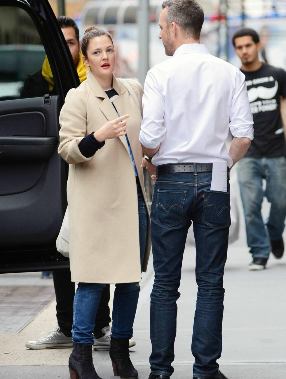 FRESH: Drew Barrymore i New York tidligere i måneden. Foto: All Over Press