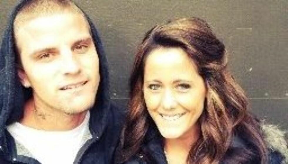 VENTER BARN: Jenelle Evans og Courtland Rogers giftet seg i desember etter å ha kjent hverandre i mindre enn et halvt år. Nå blir de foreldre. Foto: Twitter