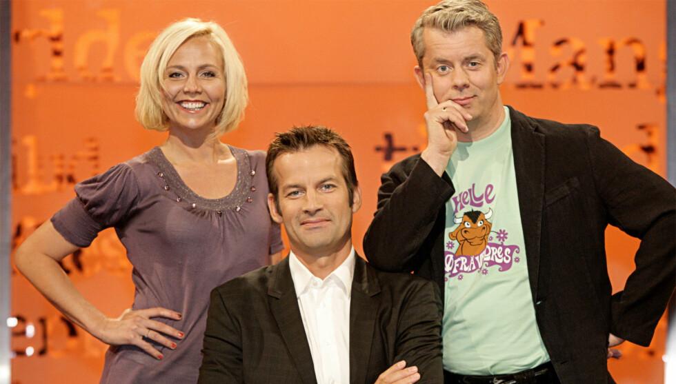 PROGRAMLEDER: Jon Almaas er til vanlig programleder i NRK-programmet «Nytt på Nytt». Foto: NRK