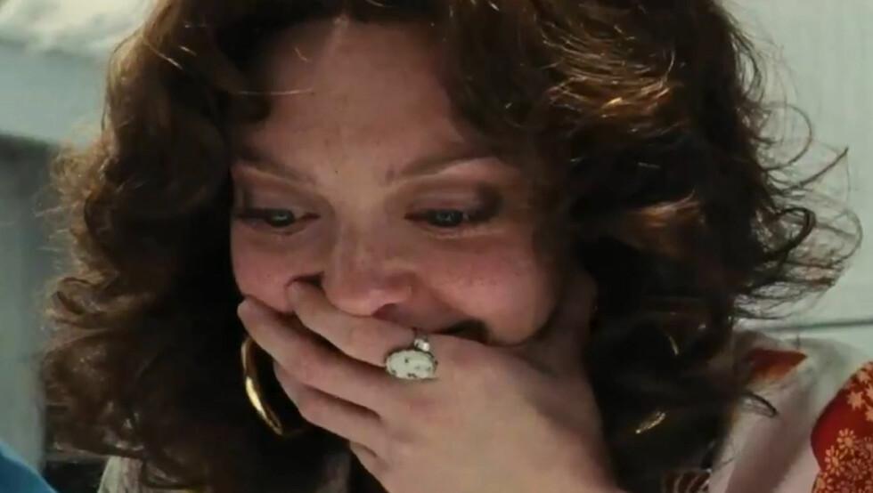 LATTERMILD STEMNING: Amanda Seyfried sier til Vanity Fair at hun ikke klarte å holde latteren tilbake under innspillingen filmen «Lovelace», hvor hun spiller pornostjernen Linda Lovelace. Foto: Animus Films