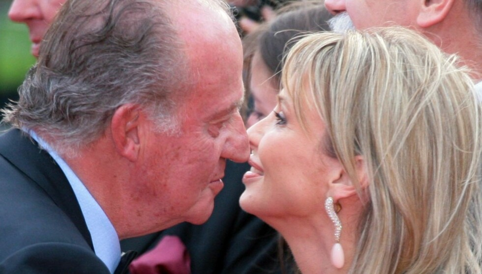 28 ÅRS FORSKJELL: Corinna fanget kongens hjerte - og dronning Sofia er rasende på sin ektemann, som har stillt henne i forlegenhet. Foto: NTB scanpix