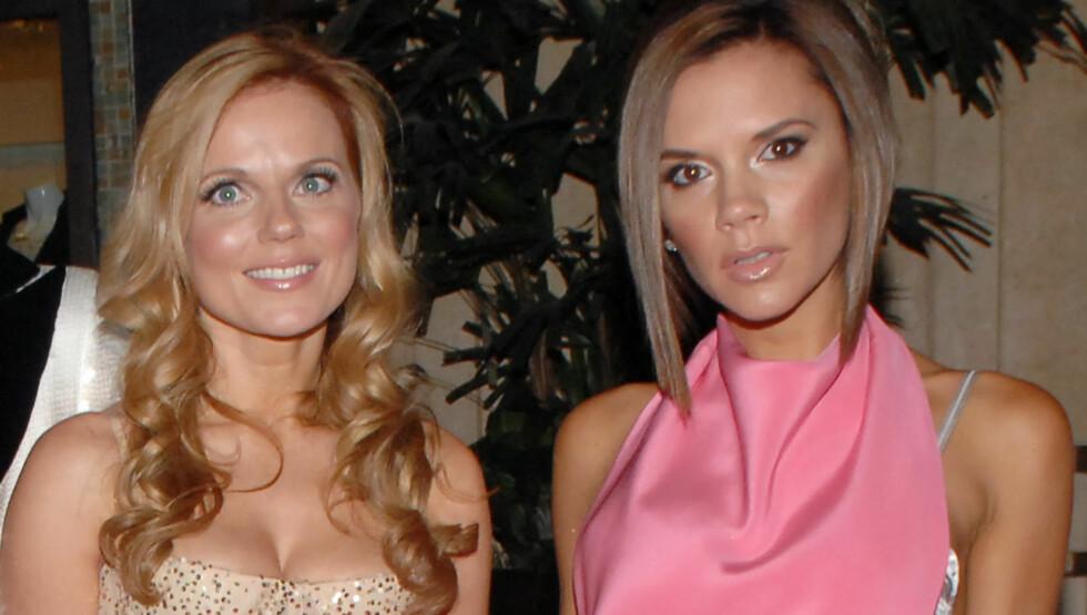 ISFRONT: Geri Halliwelll skal ha blitt rasende etter at Victoria Beckham satte en stopper for en ny Spice Girls-gjenforening, og snakker ikke lenger til sin tidligere venninne, ifølge Daily Mirror. Foto: Stella Pictures
