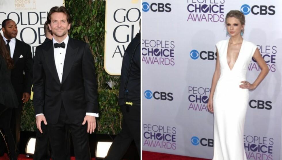 IKKE INTERESSERT: Bradley Cooper var ikke interessert i å gå på date med Taylor Swift og takket pent nei. Foto: Stella Pictures