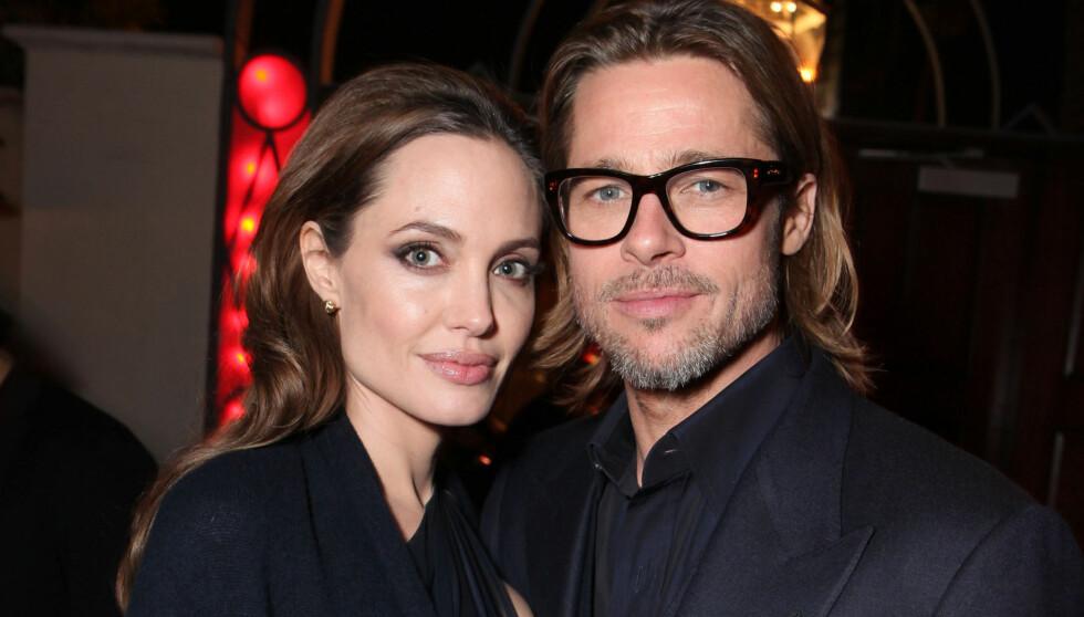 ENDELIG GIFT?: Nok en gang kommer det bryllupsrykter rundt Brad Pitt og Angelina Jolie.  Foto: All Over Press