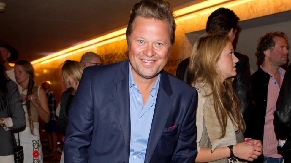 SLANKERE: Arne Hjeltnes har gått opp og ned i vekt de siste årene, men er opptatt av at den kaloririke maten skal være verdt å spise.  Foto: Stella Pictures