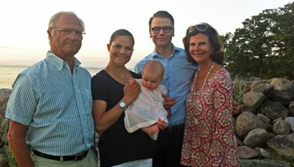 GLEDER SEG: Carl Gustaf og resten av familien gleder seg til 2013, som blir et jubelår for det svenske kongehuset. Foto: Kongehusets Facebooksider