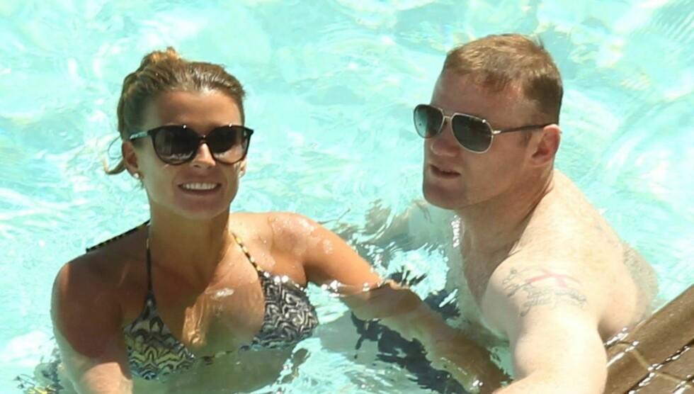 FÅR NY GUTT: Coleen Rooney avslører på sin Twitter-side at hun og fotballstjernen Wayne Rooney venter sin andre sønn. Foto: All Over Press