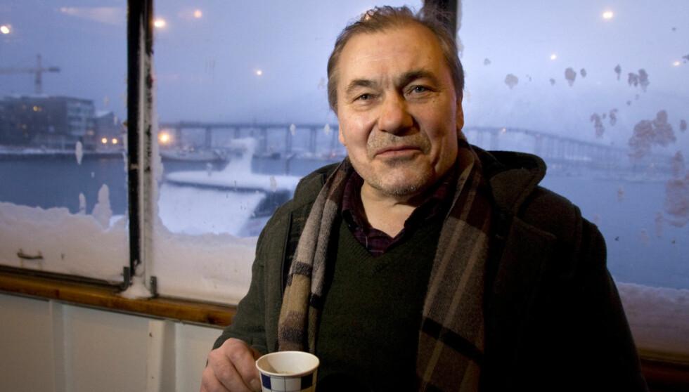 LIVAT: Nordlenningen er kjent for sine saftige nord-norske gloser, men forteller til Dagbladet Magasinet at han ble mobbet for dialekten da han flyttet til hovedstaden på 70-tallet. Foto: NTB scanpix