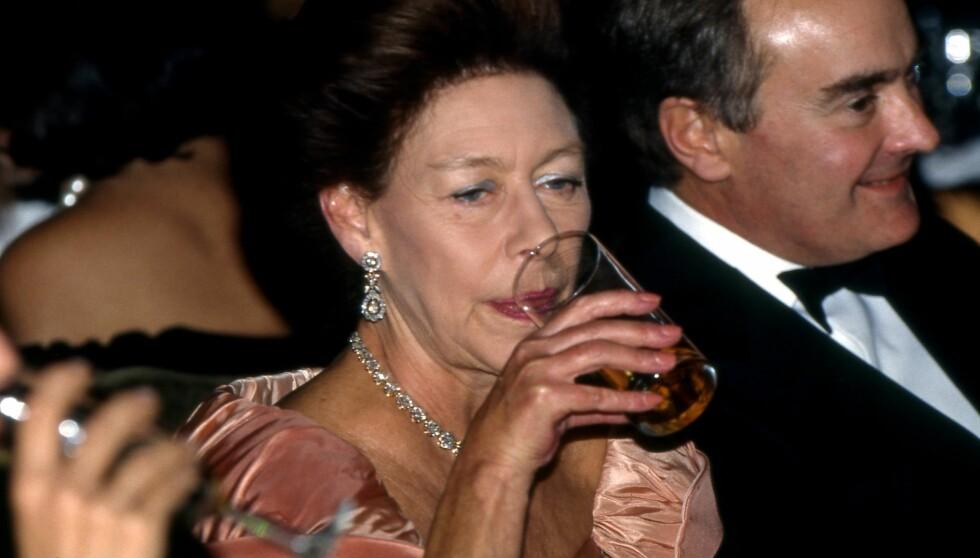 TØRST PRINSESSE: Dronning Elizabeths søster Margaret var glad i menn og alkohol - og det utnyttet KGB. Foto: All Over
