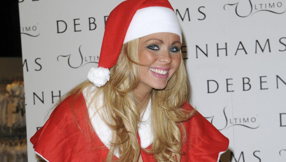FRKYTER TILBAKESLAG: Den britiske modellen og TV-stjernen Nicola McLean sier hun hver jul frykter at hun skal få tilbakeslag i sin kamp mot sin bulimi. Foto: All Over Press