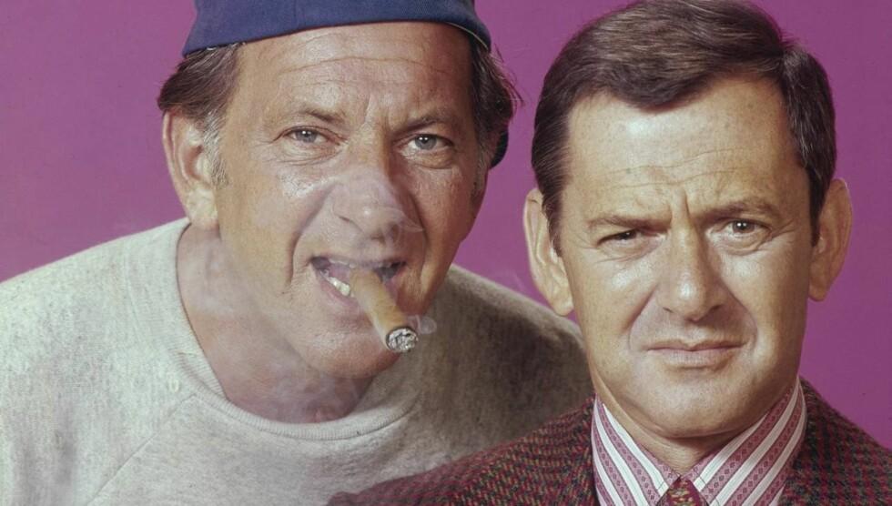 DUO: Jack Klugman og makker Tony Randall gjorde stor suksess i TV-serien «The Odd Couple» fra 1970 til 1975. Foto: All Over Press