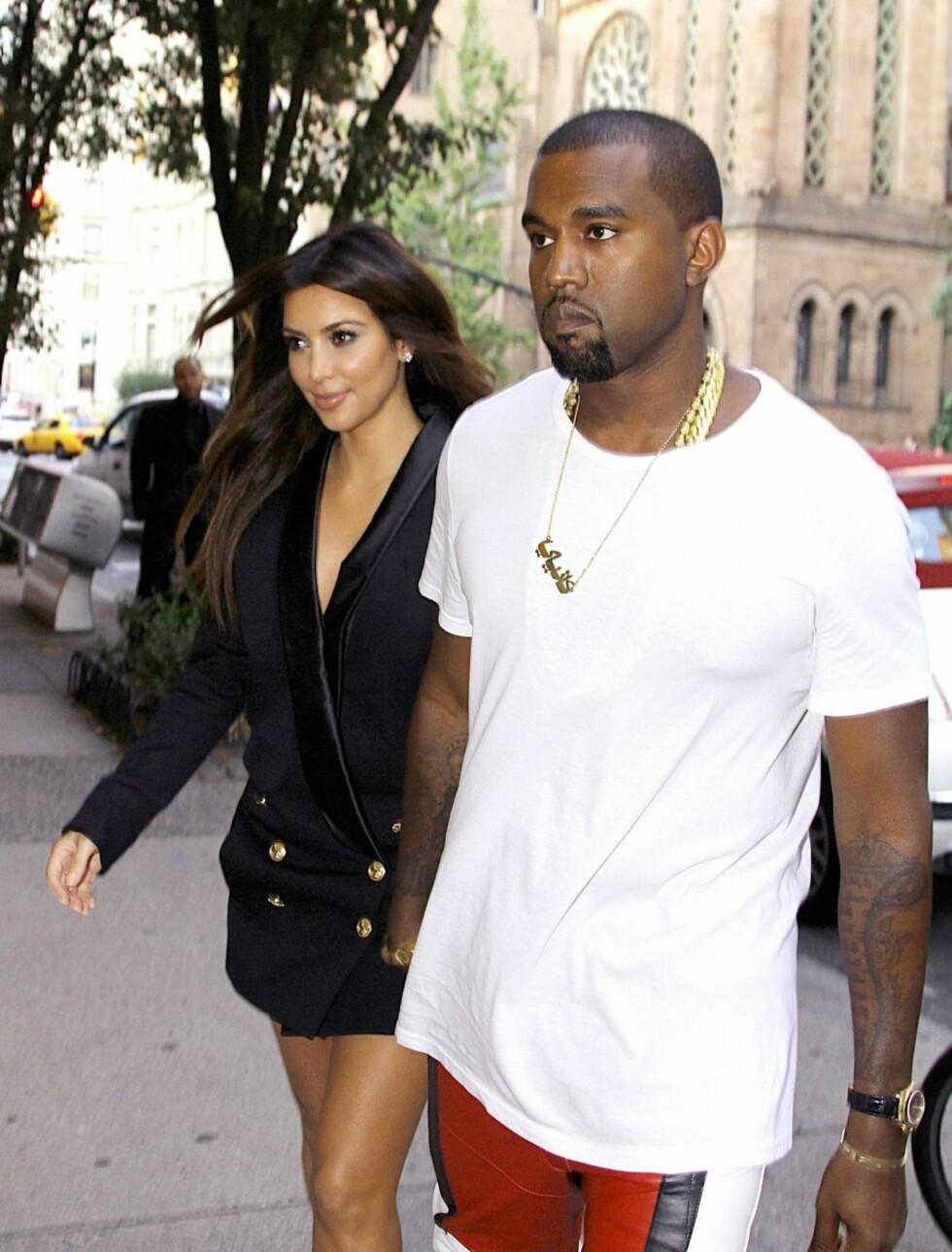 VENTER PÅ SKILSMISSE: Kim Kardashians forrige ekteskap - med basketproffen  Kris Humphries - varte kun i 72 dager. Men mange spår at hun vil gifte seg med sin nye kjæreste Kanye West, så fort skilsmissen er gjennomført. Foto: All Over Press