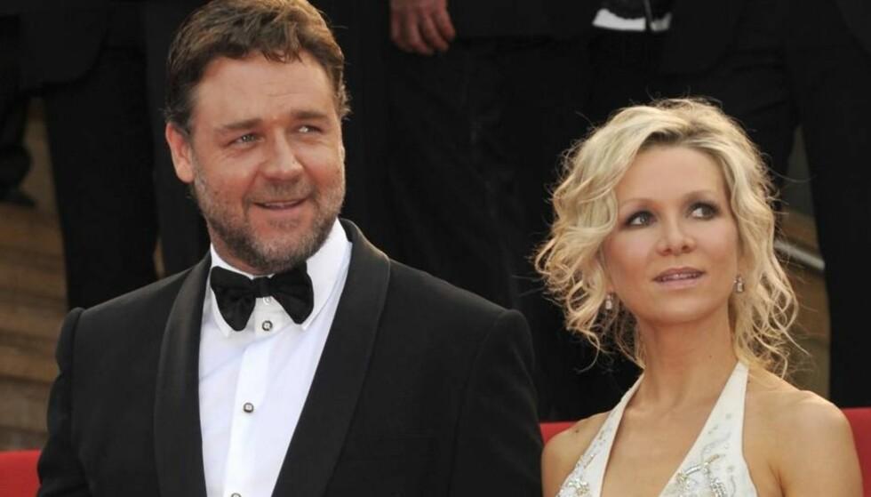 VIL VINNE EKS-KONA TILBAKE: Russell Crowe sier han er fast bestemt på å vinne eks-kona Danielle tilbake, etter at de to tidligere i år gikk fra hverandre etter ni års ekteskap. Foto: All Over Press