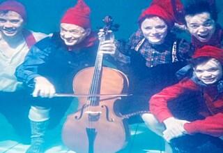 Er dette årets sprøeste julekort?