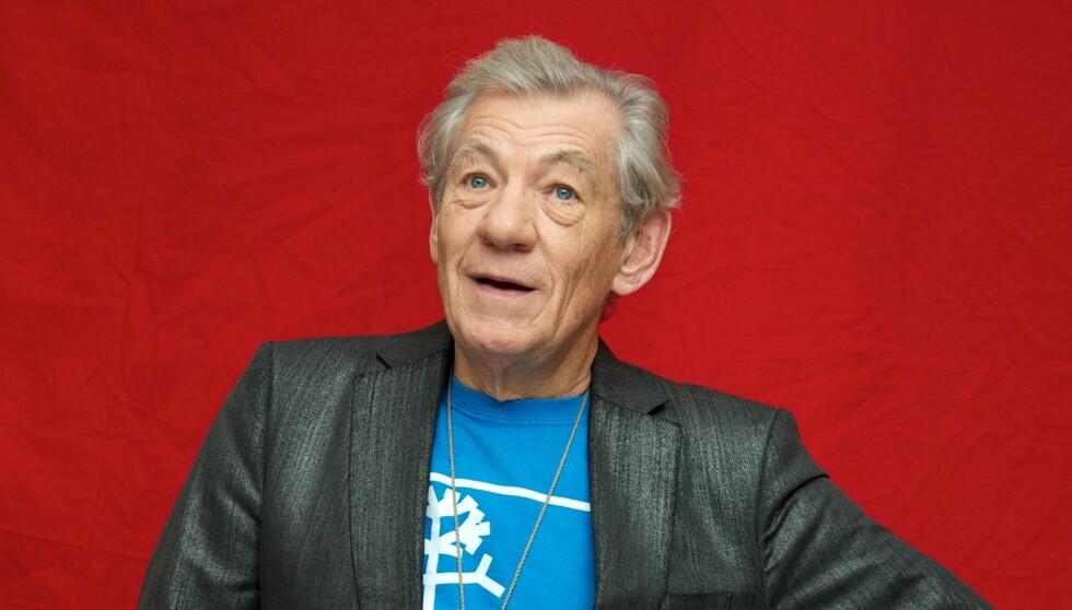 HAR KREFT: I et intervju med Daily Mirror forteller McKellen at han har hatt kreft i seks eller syv år. Foto: All Over Press
