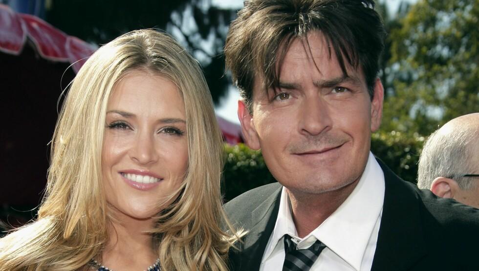 EKS-PAR: Fra 2008 til 2010 var Brooke Mueller gift med Hollywood-stjernen Charlie Sheen.  Foto: All Over Press