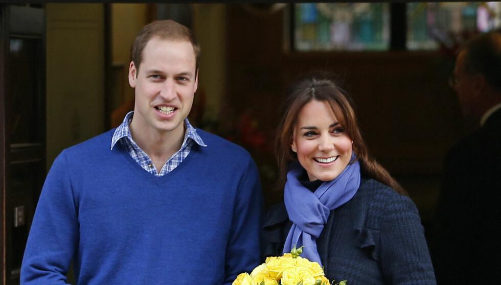 BLIR GODE FORELDRE: - Alle vennene er enige: William og Kate blir fantastiske foreldre. De er veldig avslappet og har mye omsorg for alle rundt seg. Barnet vil bli overøst med kjærlighet, sier Kates venn Jessica Hay til bladet Life & Style.  Foto: Reuters