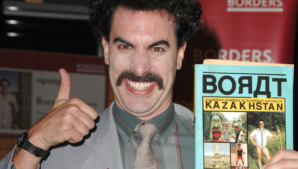 PINLIG: Sacha Baron Cohen som rollefiguren Borat. Foto: All Over Press