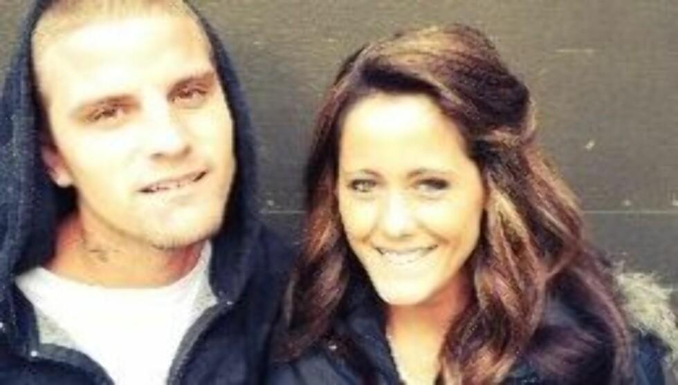 GIFTET SEG: Kun to uker etter forlovelsen giftet Courtland og Jenelle seg. Foto: Twitter