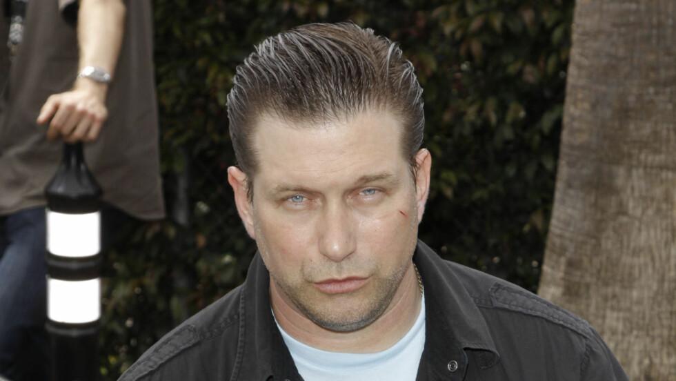 I HARDT VÆR: Stephen Baldwin er i trøbbel med lovens lange arm. Foto: Fame Flynet