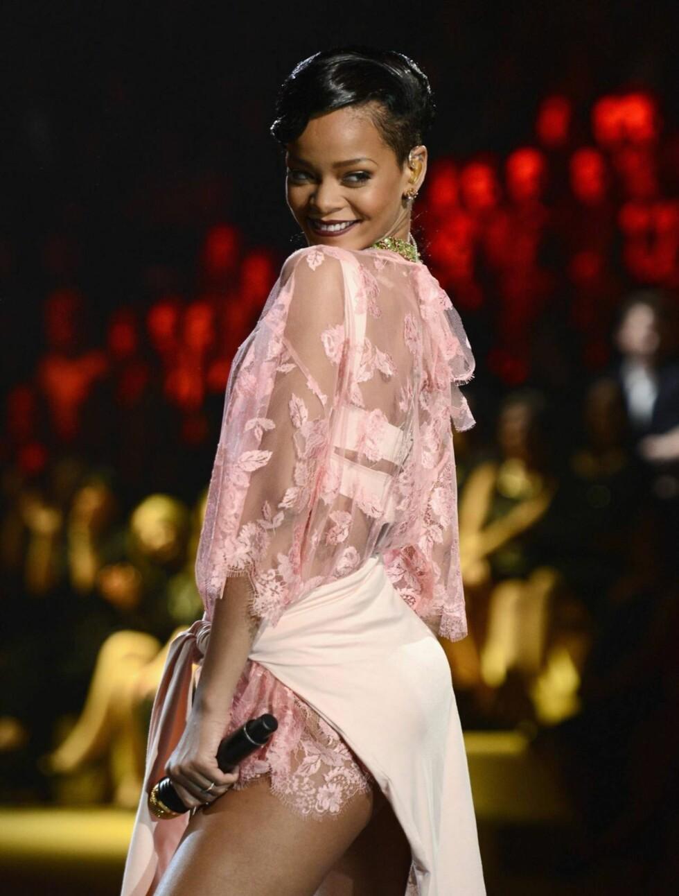 4. PLASS: Artisten Rihanna gikk akkurat glipp av pallen. Foto: All Over Press