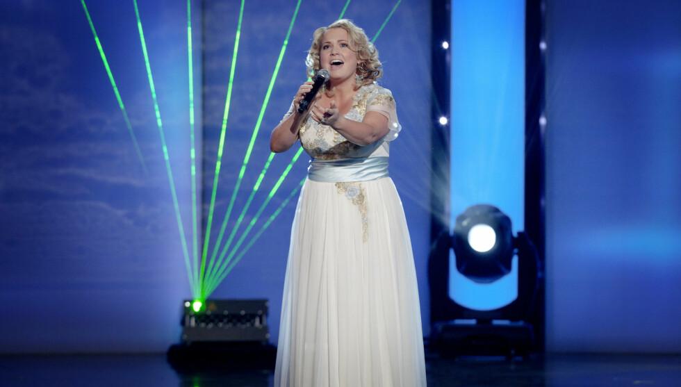 FLOTT: Helene Bøksle under fjorårets Melodi Grand Prix. Foto: NTB scanpix