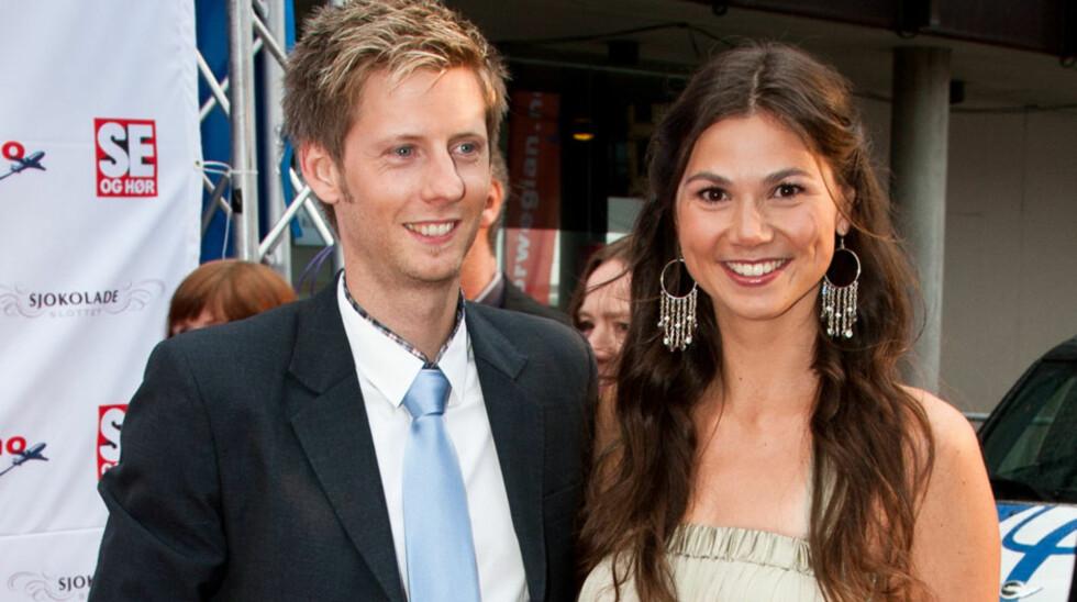 GIFT: Paret giftet seg i 2011, og har i dag to døtre - Tiril (2) og Yrja (6 mnd.). Foto: Stella Pictures