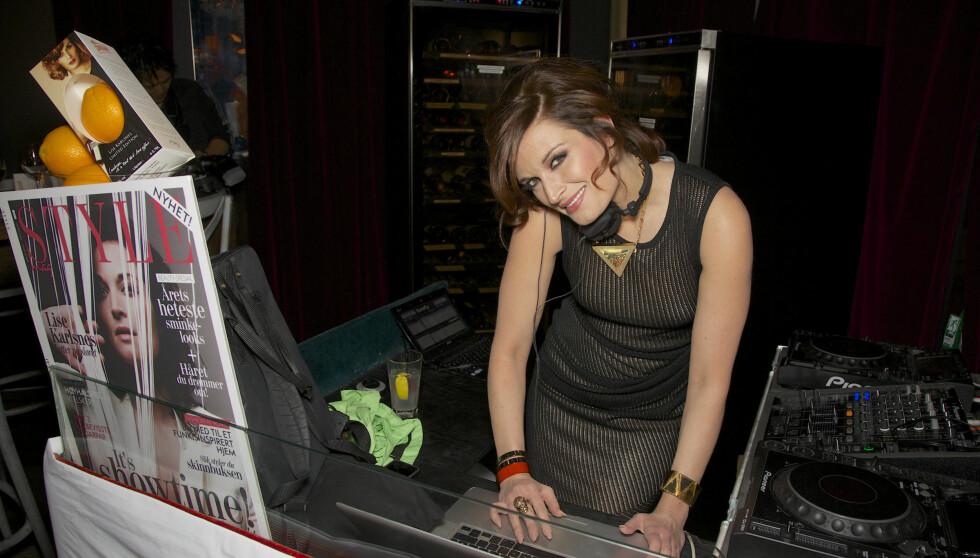 DJ-DAG 2: Lise Karlsnes spilte også på STYLEmags fest.  Foto: Se og Hør