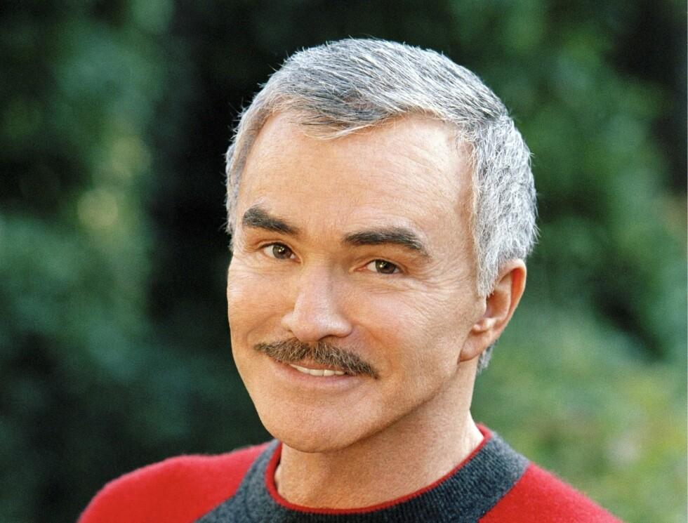 KJENDISMENN MED BART: Burt Reynolds Foto: Stella Pictures