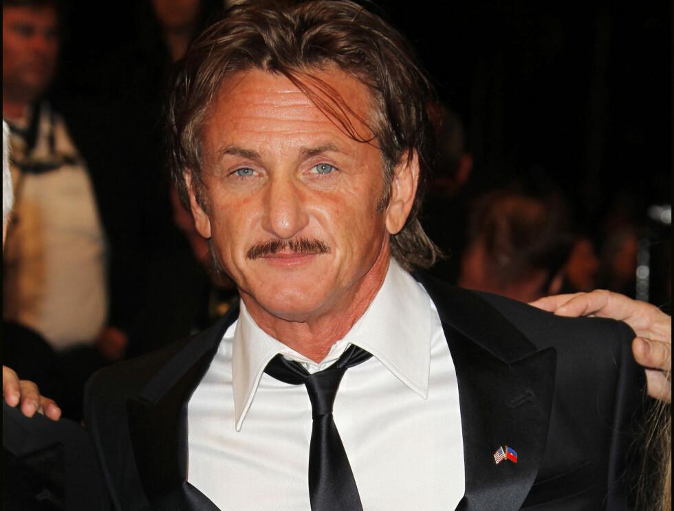KJENDISMENN MED BART: Sean Penn Foto: Stella Pictures