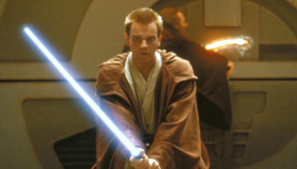 STOR ROLLE: McGregor hadde rollen som Obi-Wan Kenobi i Star Wars Episode 1-3. Foto: STELLA PICTURES