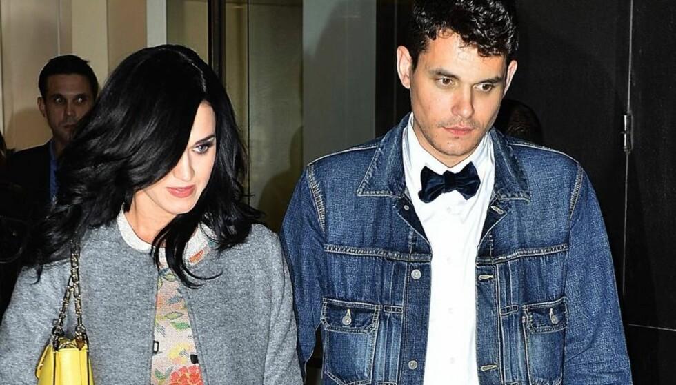 BLIR SAMBOERE?: Ifølge en kilde nær Katy Perry og John Mayer, planlegger paret å flytte sammen. Foto: All Over Press