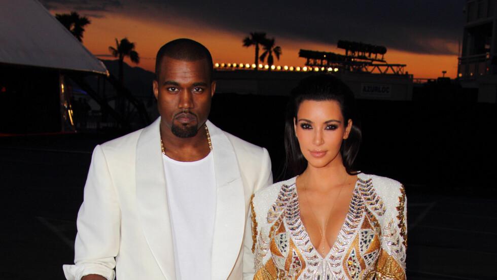 PÅDRIVER: Det kan virke som om Kanye West har hatt en finger med i spillet når det gjelder Kims plutselige lyst til å gå ned i vekt. Foto: All Over Press