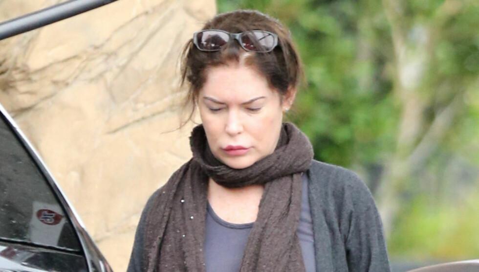 MERKELIG OPPFØRSEL: Da skuespilleren var til stede på en strandfest skal hun ha oppført seg svært merkelig og skremt de andre gjestene. Foto: FameFlynet