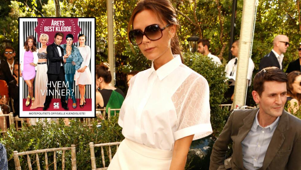 FÅR SKRYT: Den tidligere Spice Girls-sangstjernen får skryt av Jan Thomas. Foto: All Over Press